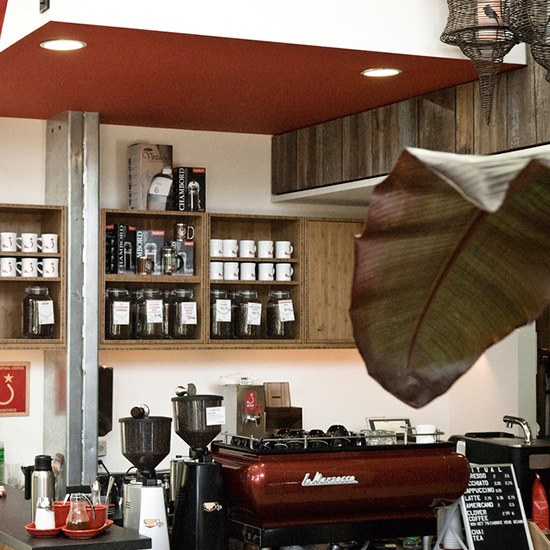 Quirky Coffee Shops: Ritual Coffee at Flora Grubb Gardens