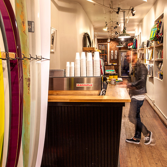 Quirky Coffee Shops: Saturdays Surf Shop/Café