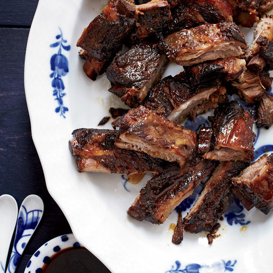 Honey-Glazed Spareribs