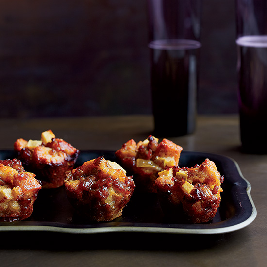 Sausage-and-Apple Stuffing Bites