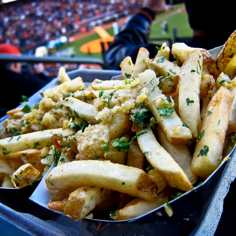Gilroy Garlic Fries, San Francisco, SF