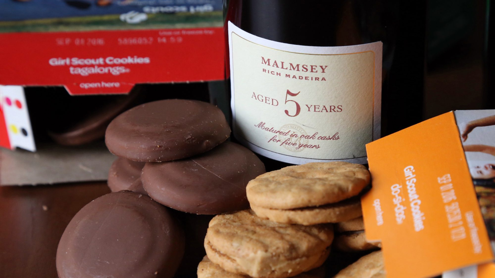 Girl Scout Cookies Wine Pairings