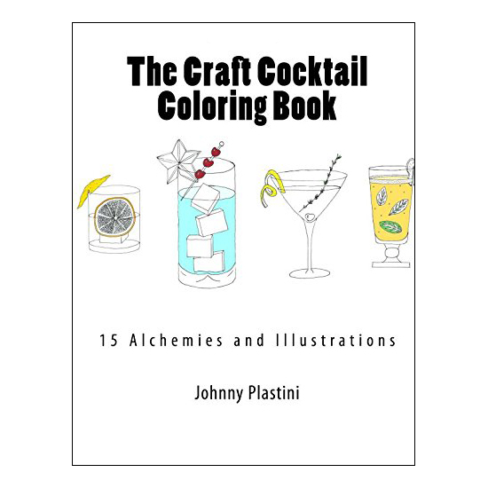 The Craft Cocktail Coloring Book
