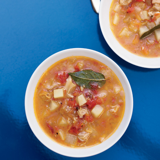 Tomato Clam Chowder