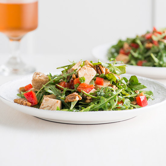 Healthy Chicken and Arugula Salad