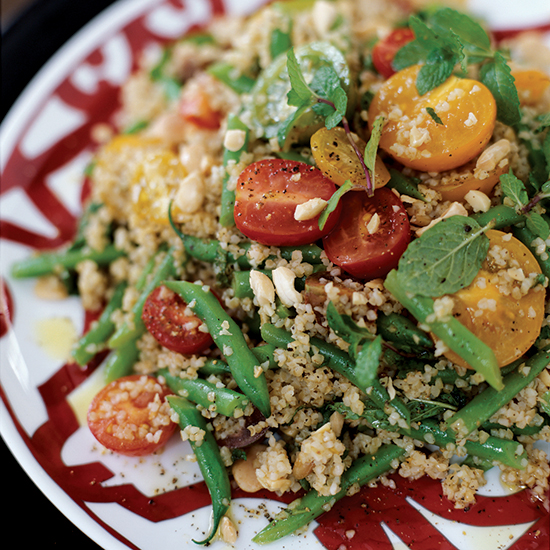 Summer Bulgur and Green Bean Salad