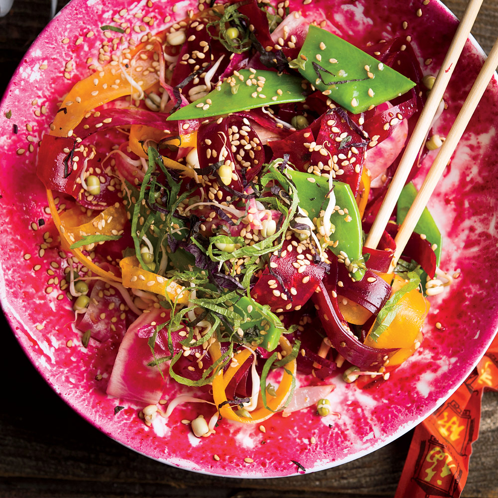 Beet Salad with Shiso