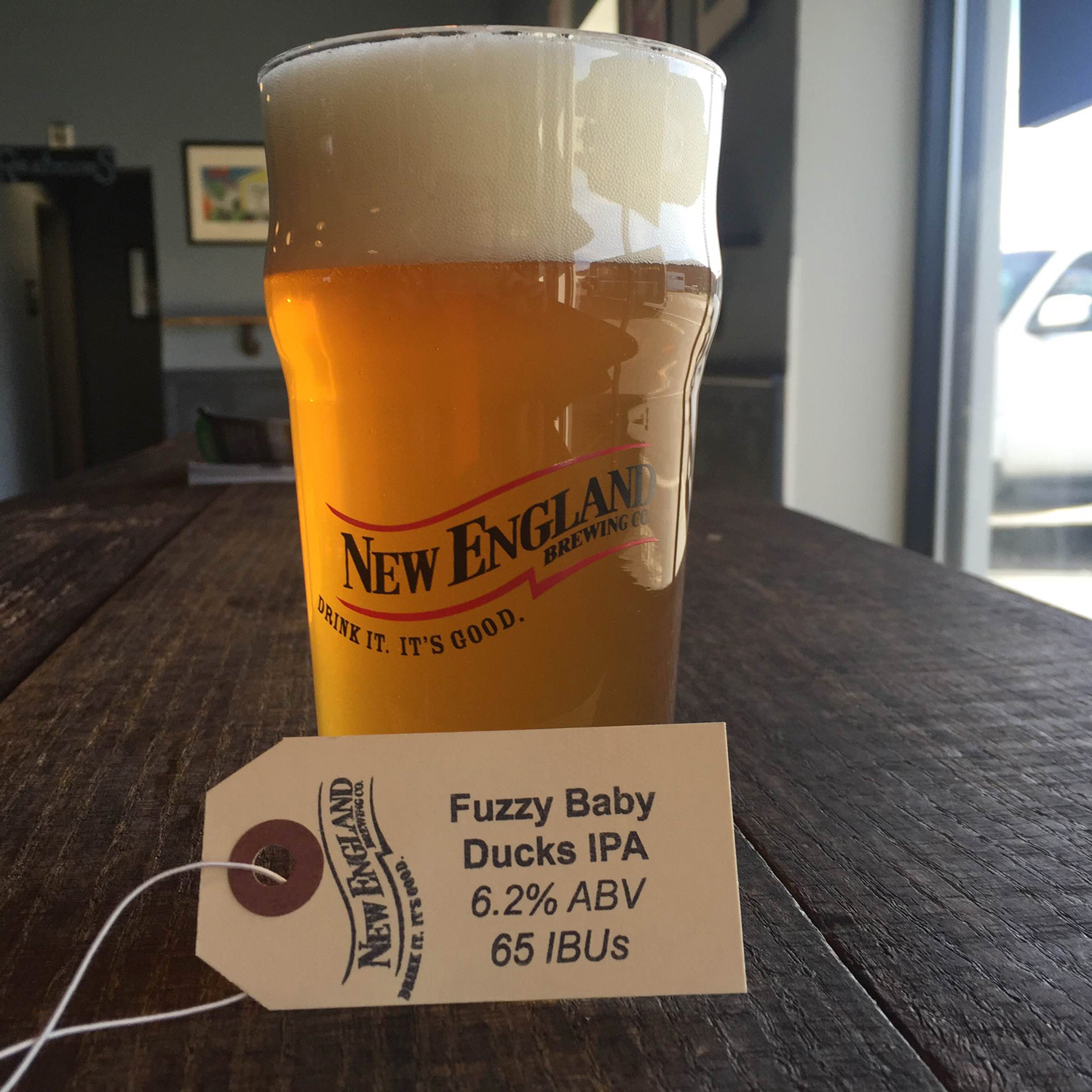 Connecticut: New England Fuzzy Baby Ducks IPA