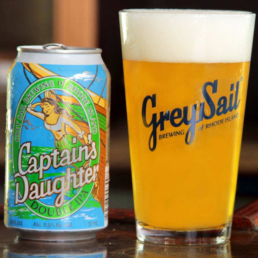 Rhode Island: Grey Sail Captain's Daughter Double IPA