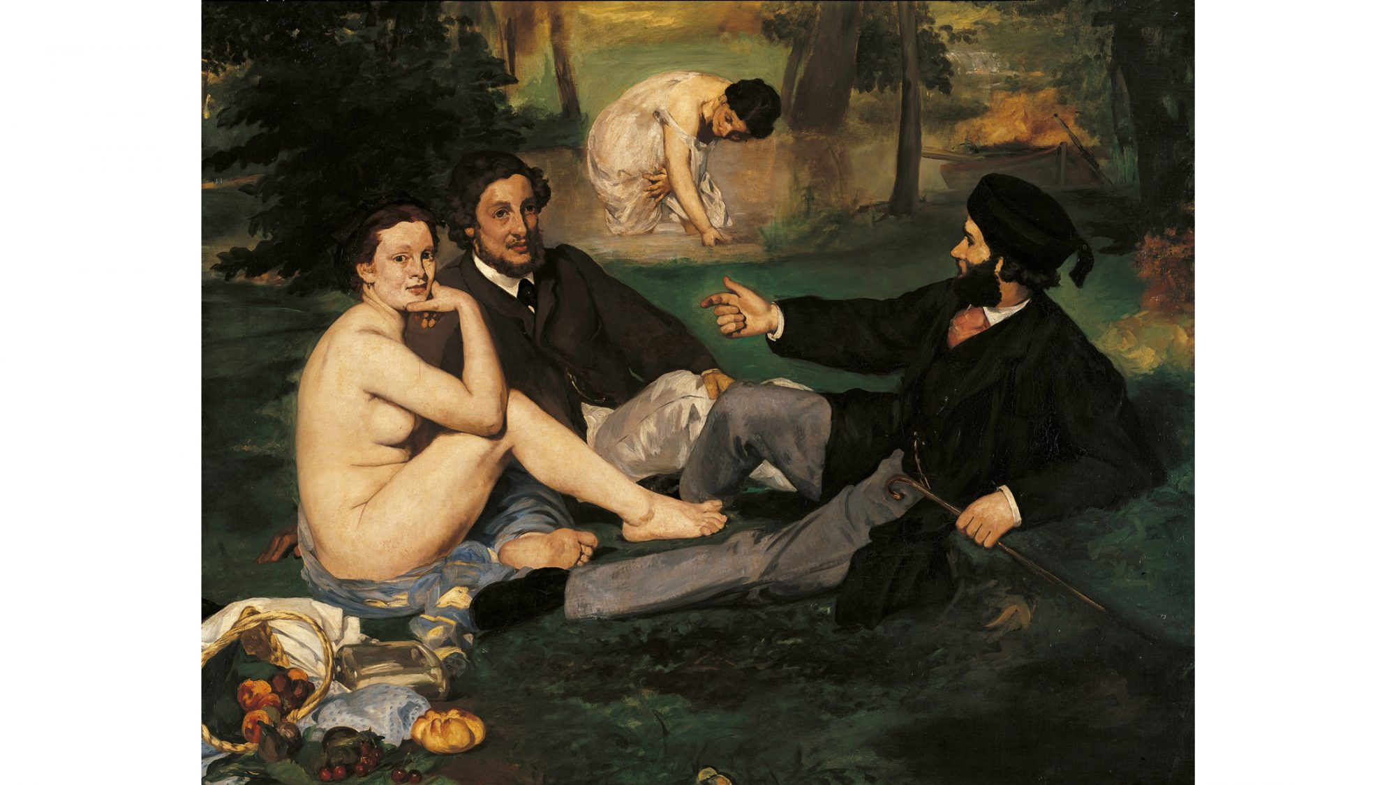 History of Dining in the Nude