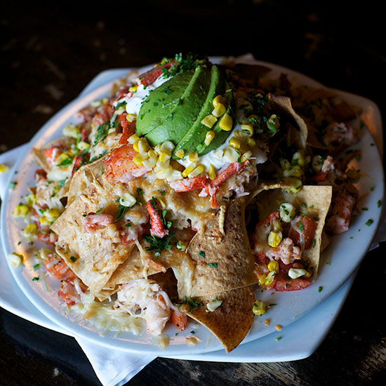 Outrageous Nachos: The Fat Cat; Quincy, MA