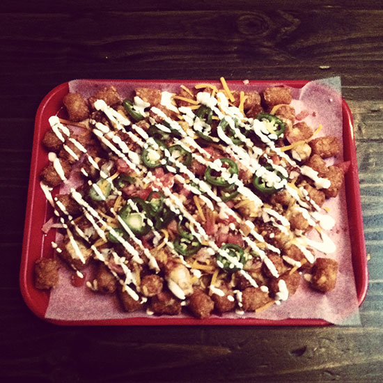 Outrageous Nachos: Pork Slope; Brooklyn