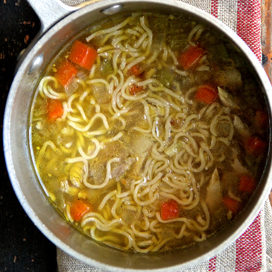 Easy Chicken Ramen Soup