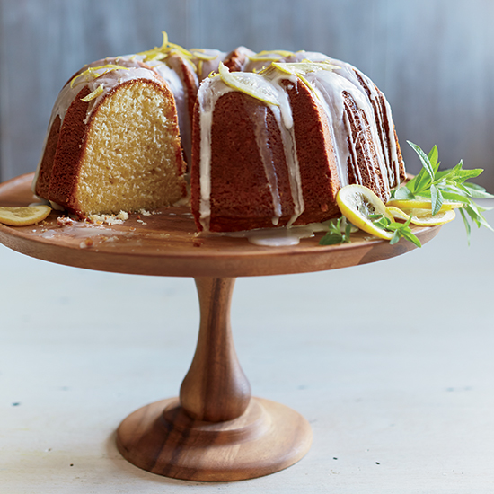 Buttermilk Bundt Cake with Lemon Glaze