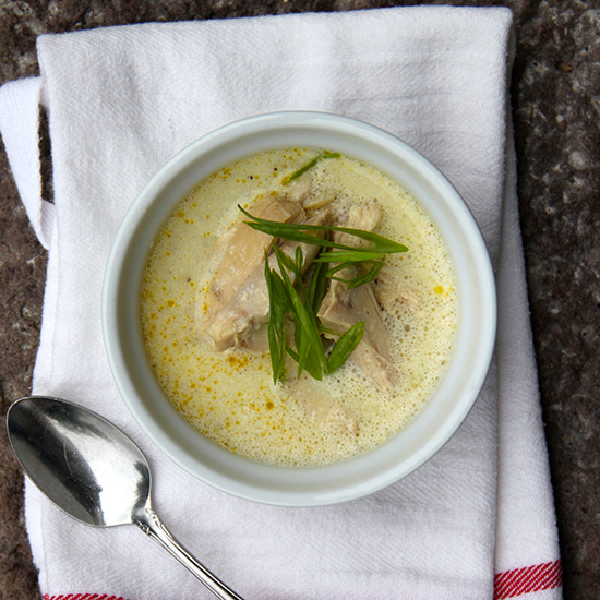 Slow Cooker Chicken and Egg Drop Soup