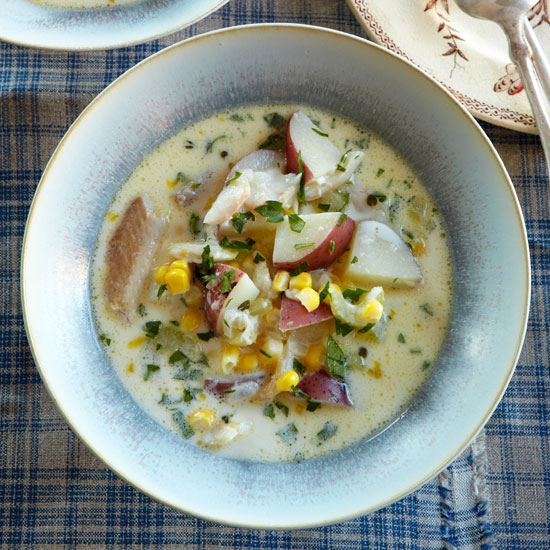 Smoked-Trout Chowder