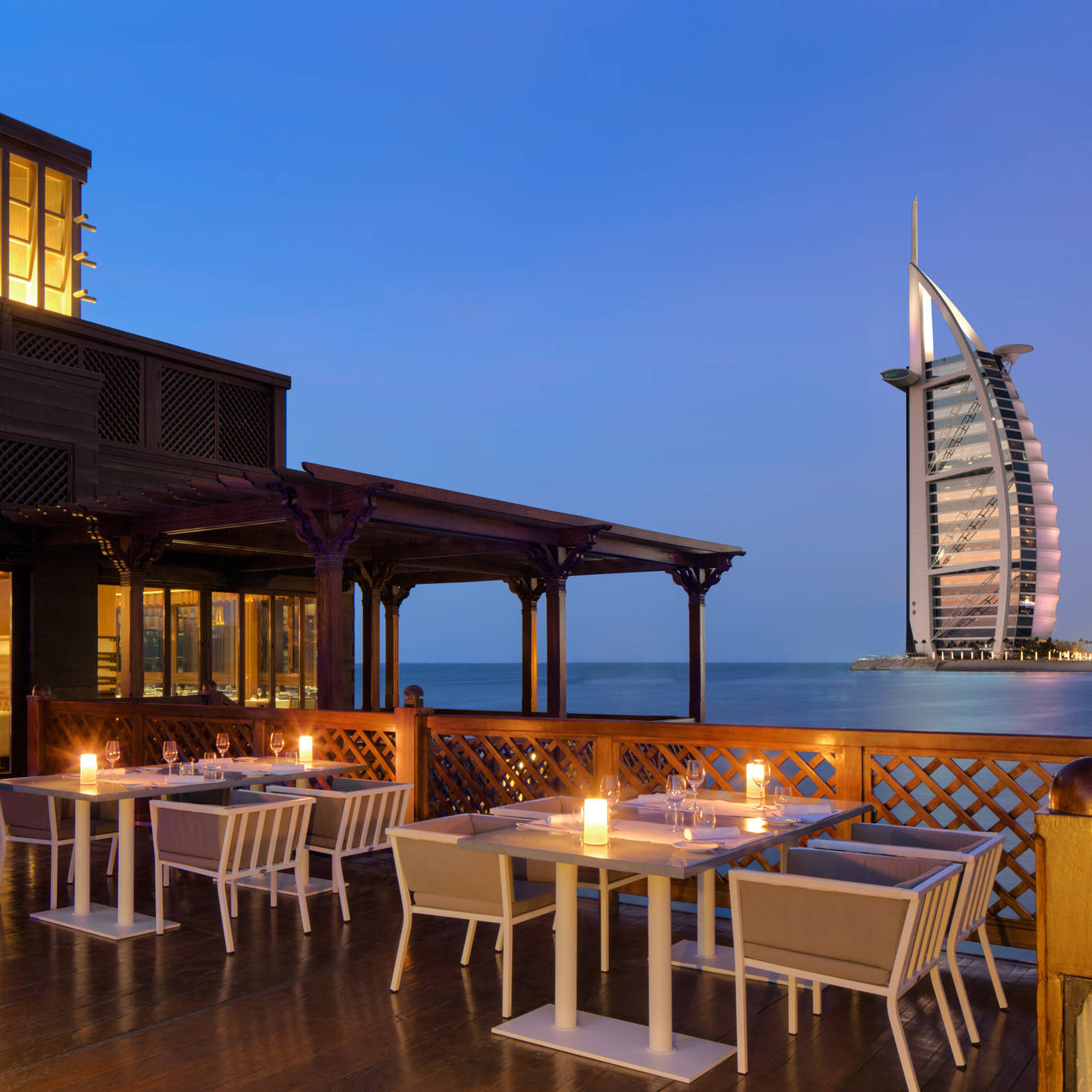 Pierchic Bar at Al Madinat Jumeriah