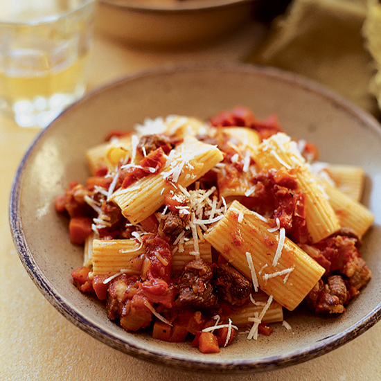 Hearty Lamb Ragù with Rigatoni