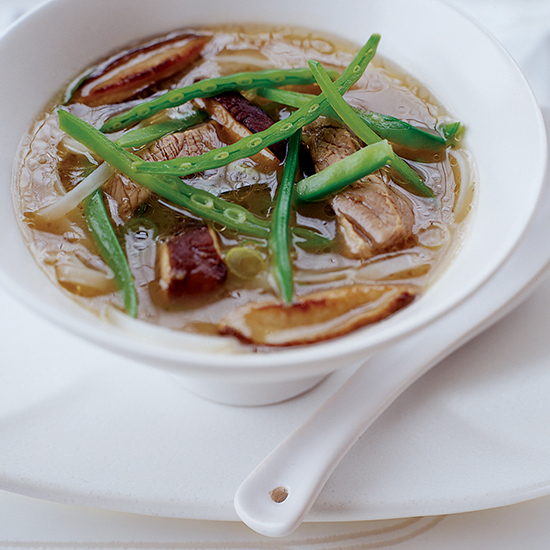 Hot and Sour Noodle Soup with Pork