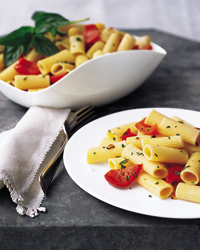 Rigatoni with Red Peppers