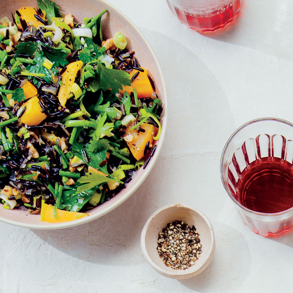 Wild Rice and Golden Beet Salad