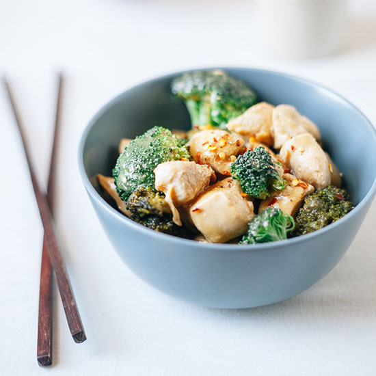 Honey Mustard Chicken Stir-Fry