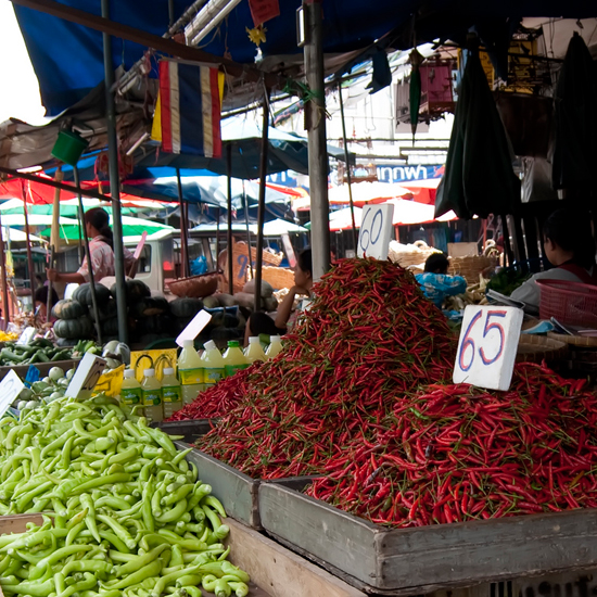 World's Best Food Markets: Khlong Toei Market in Bangkok