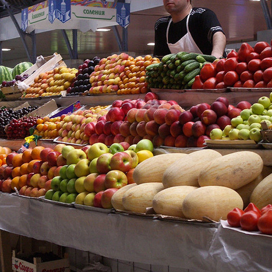 World's Best Food Markets: Kuznechny Market in St. Petersburg