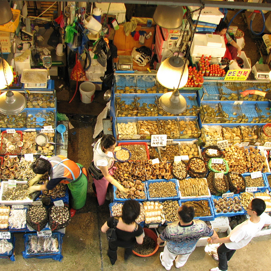 World's Best Food Markets: Noryangjin Fish Market in Seoul