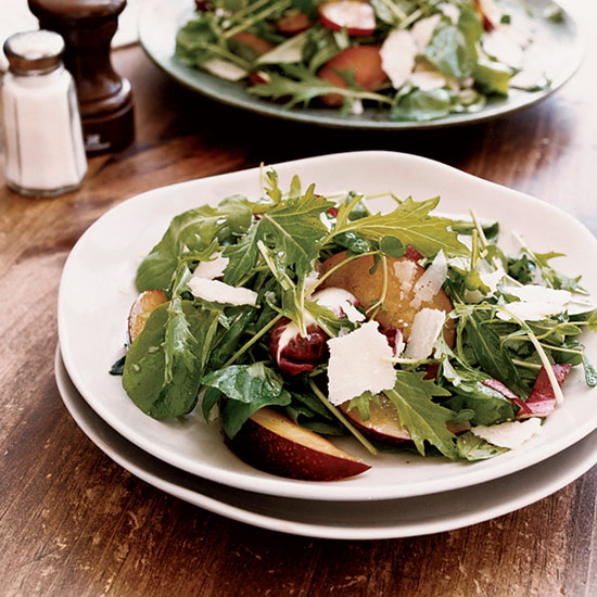 Chopped Salad with Beets, Beans, Goat Cheese and Hazelnuts