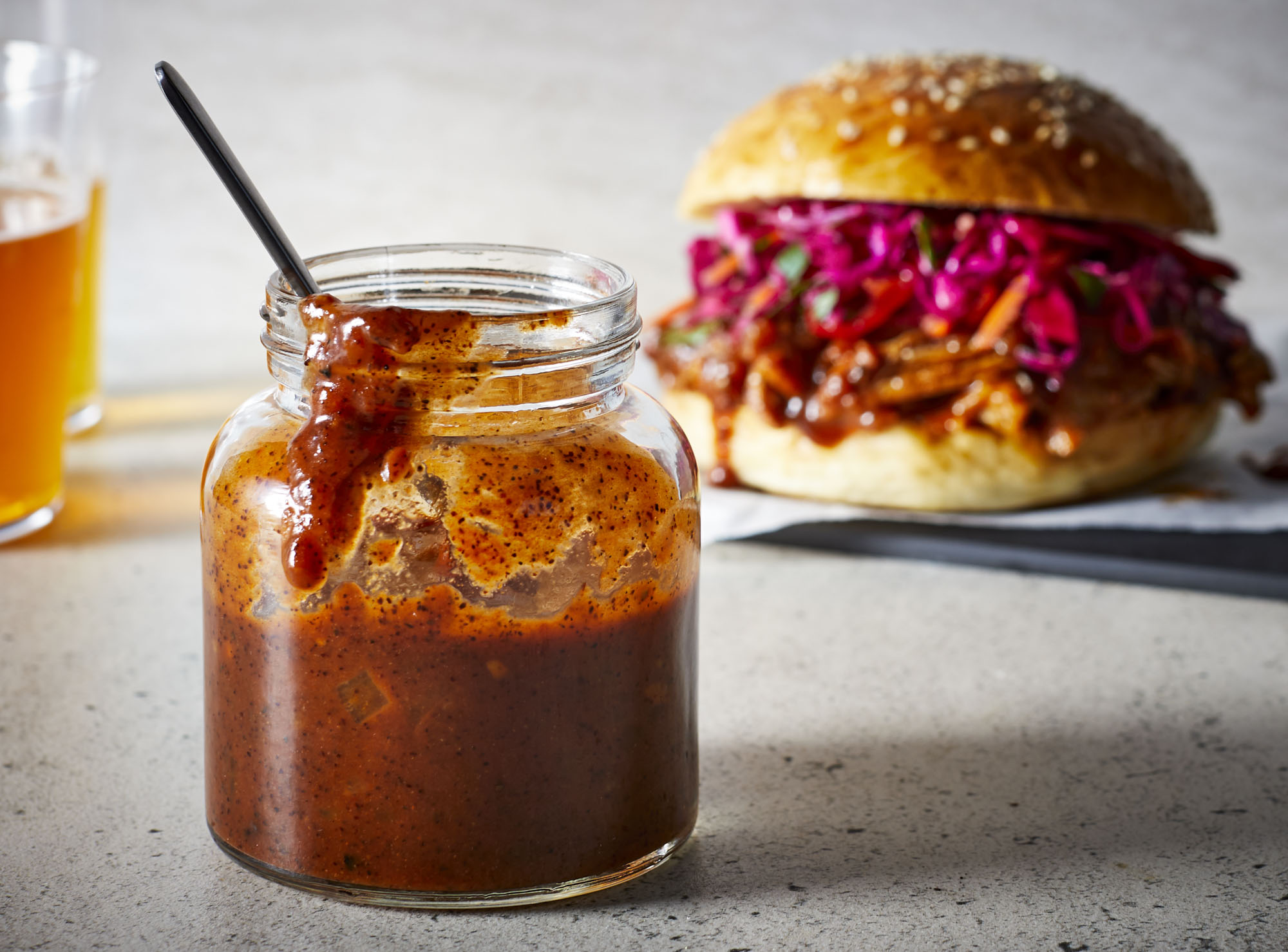 Burnt Honey Barbecue Sauce