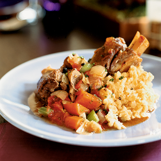 Lamb Shanks, Osso Buco-Style