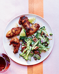 Grilled Chicken Wings with 9-Spice Rub