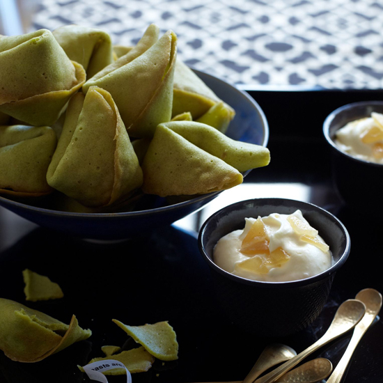 Lemon-Ginger Mousse