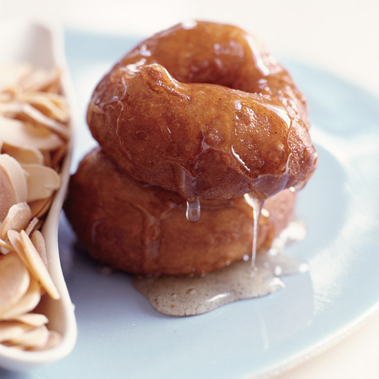 Feb. 16: Doughnuts in Cardamom Syrup