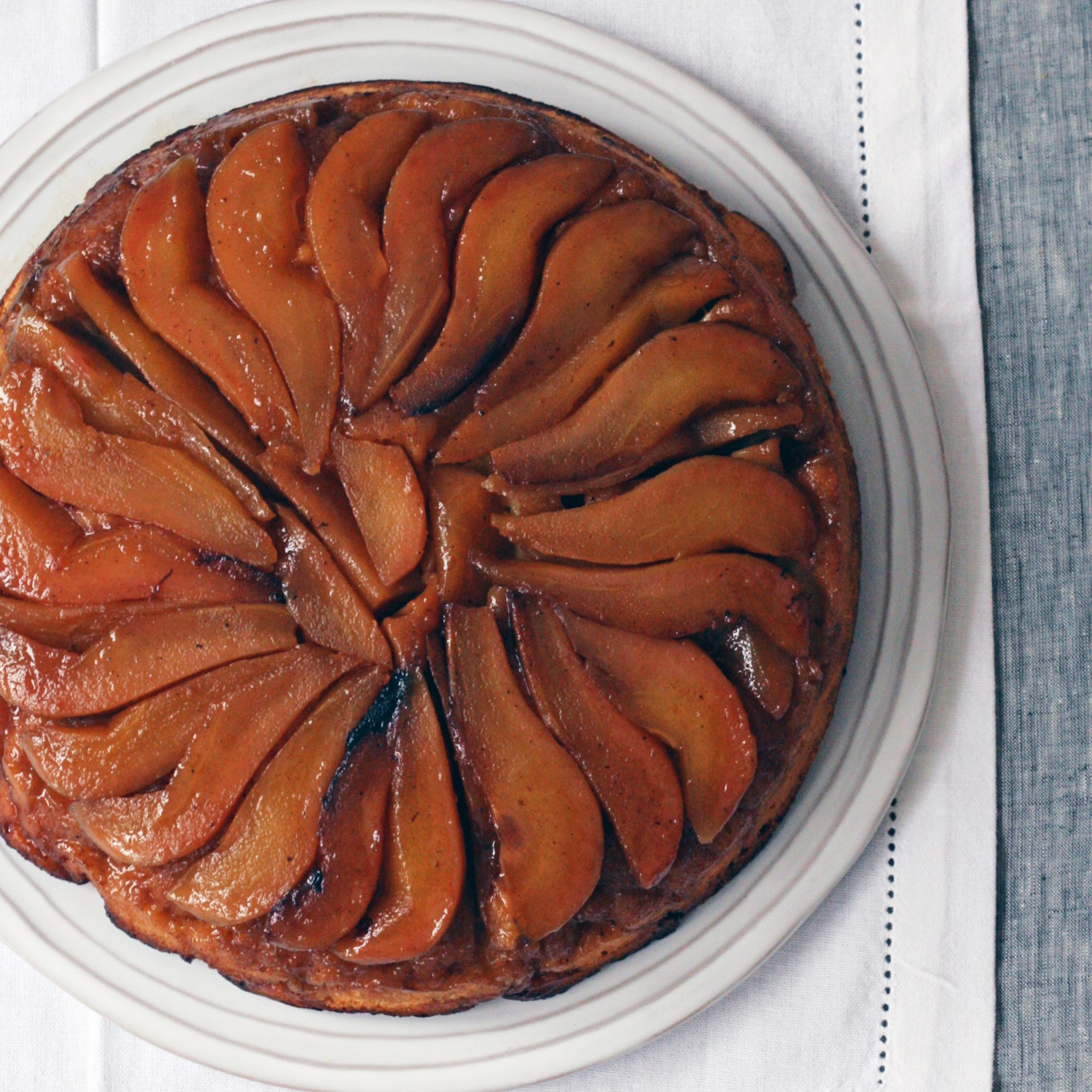Ginger and Pear Upside-Down Cake