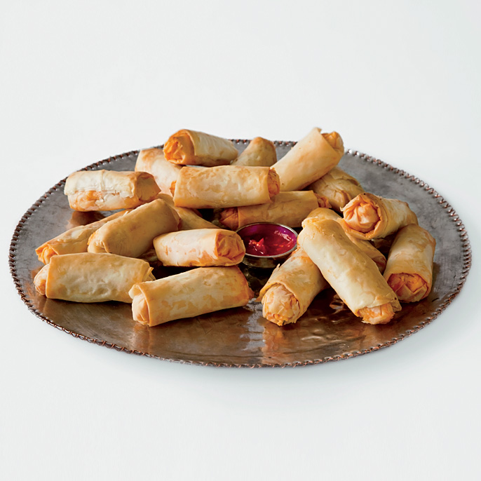 Goat Cheese and Chorizo Rolls