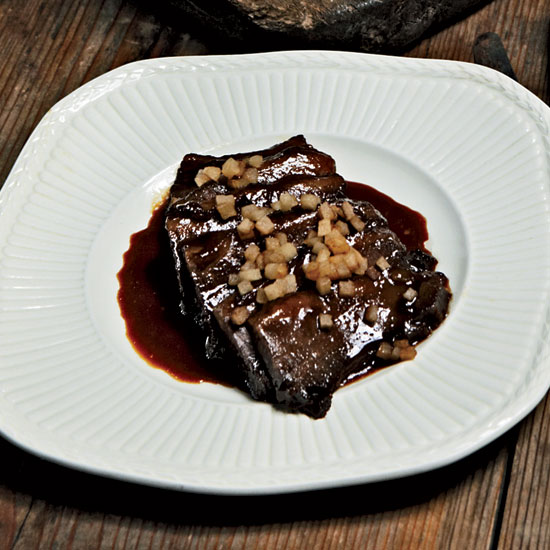 Red-Wine-Braised Beef Brisket