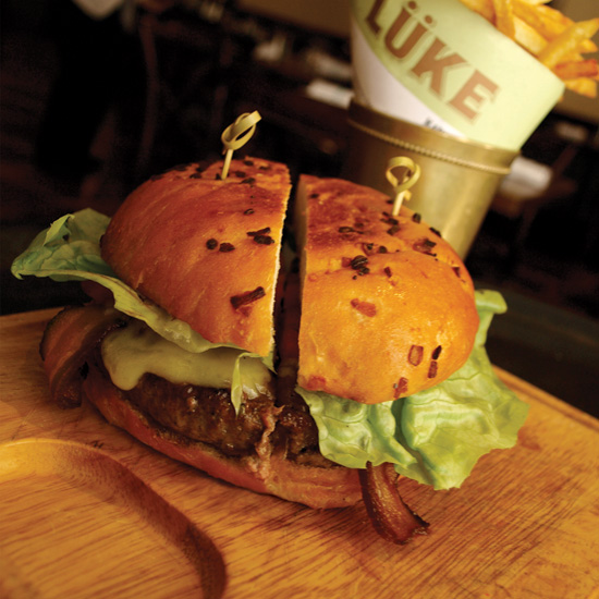Best Bacon Burgers in the US:  Lüke in New Orleans