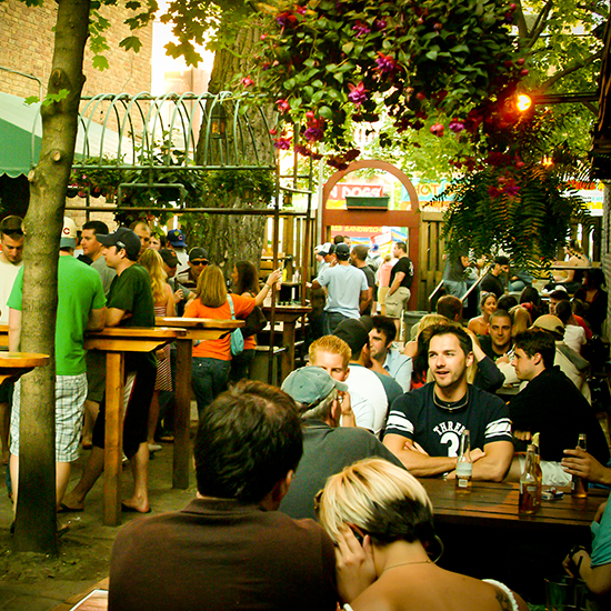 America's Best Beer Gardens: Sheffield's, Chicago