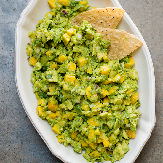 Tropical Mango Guacamole