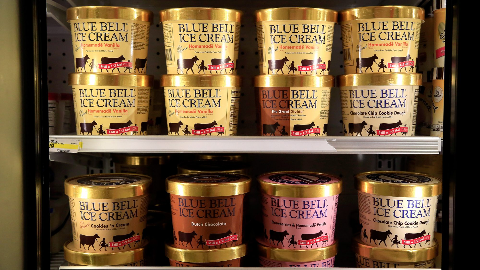 Blue Bell Ice Cream Recall