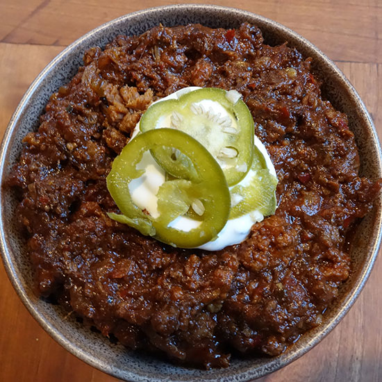 Best Chili in the U.S.: Mexicue Food Truck