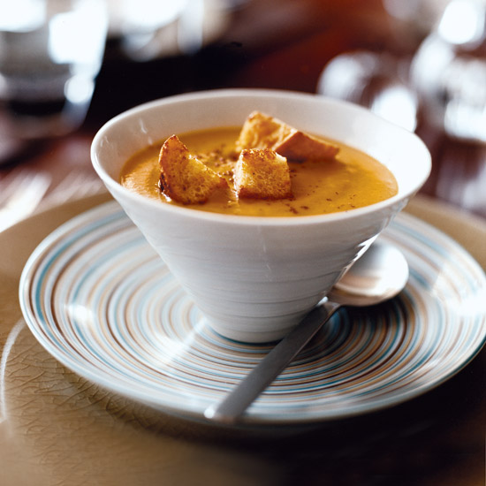 Winter Squash Soup with Pie Spices