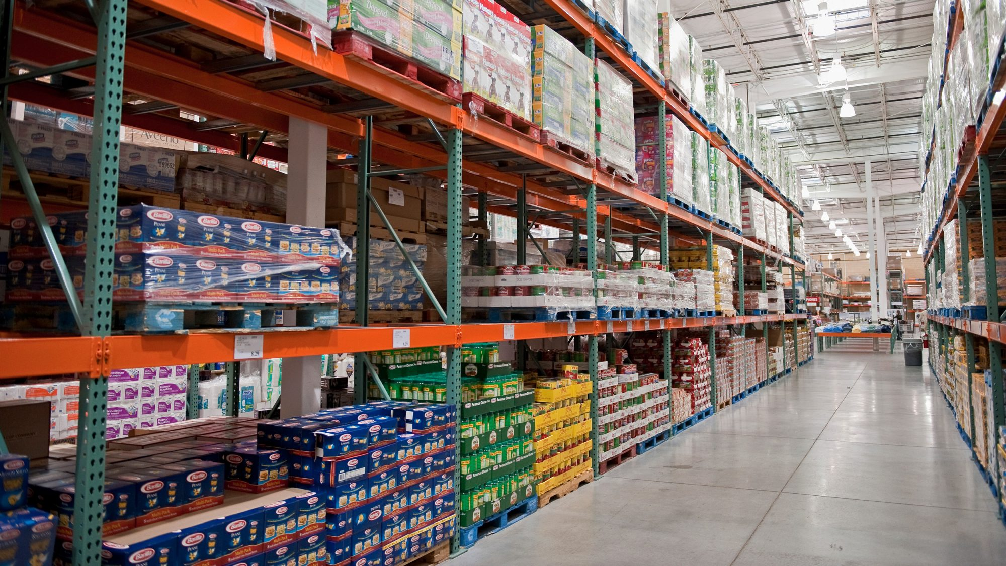 Costco Food Shopping