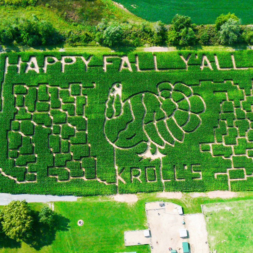 Kroll's Fall Harvest Farm in Waukegan, Illinois