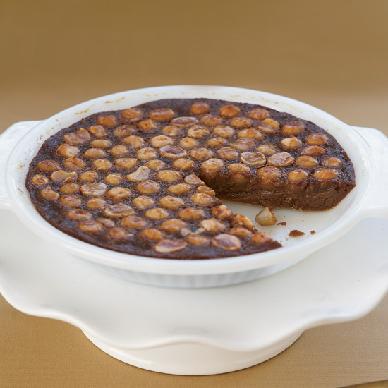 Chocolate-Macadamia Tart