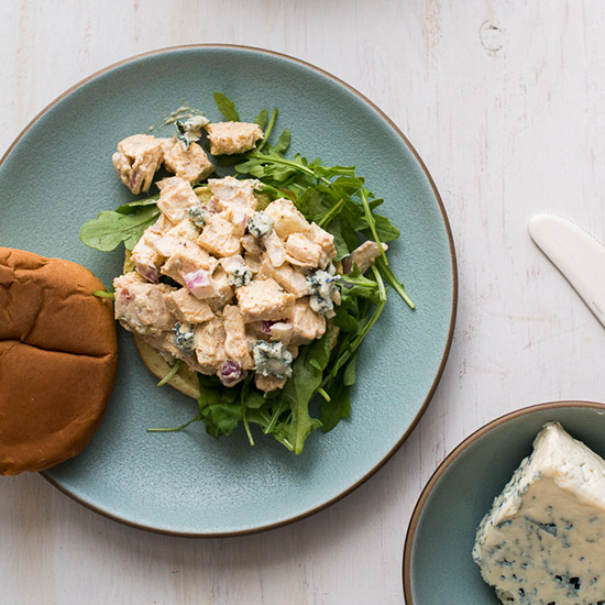 Blue Cheese Chicken Salad Sandwich