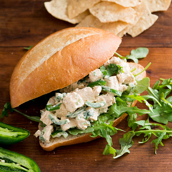 Jalapeño Chicken Salad Sandwich
