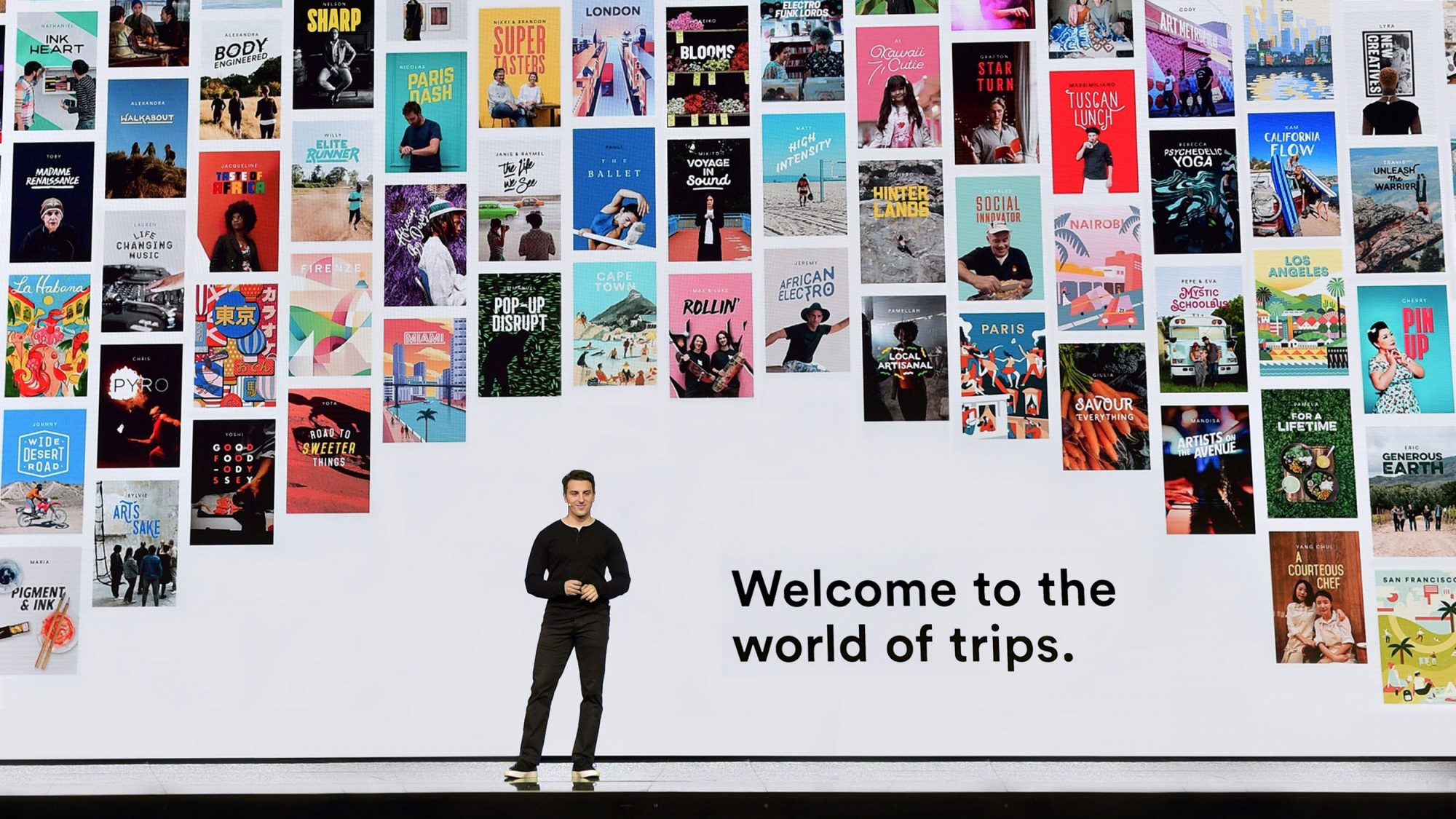 Airbnb Trips feature